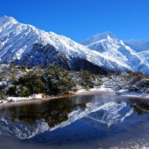 ニュージーランドの冬は極寒じゃないよ