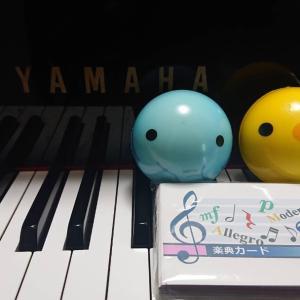 ピアノを習う事。