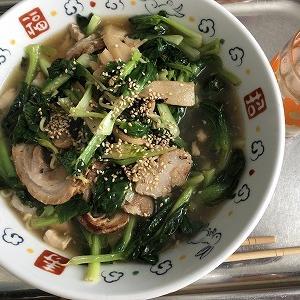 タアサイ麺 ~実家から野菜が送られてくるので何とかしなければならない【8】~