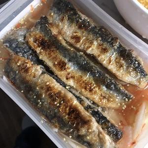 残ったピクルス液でイワシの南蛮漬け(マリネ) ~冷蔵庫の余りもので何か作ってみる【8】~