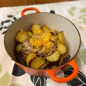紅はるかを鍋ローストポークに使ったら絶品でびっくり!