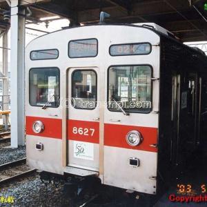 東急8627F 東武との直通開始当初/直通前試運転