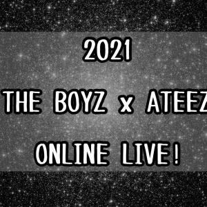 9月17日ライブ生配信!2021THE BOYZ X ATEEZ ONLINE LIVE!
