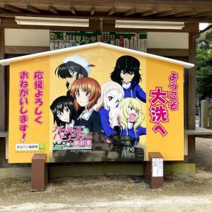 大洗磯前神社 アニメの聖地