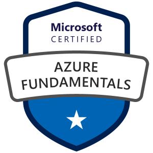 Microsoft Azure Fundamentals試験、合格しました