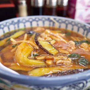 【静岡市 駿河区】なすソバが美味い《たきふく》