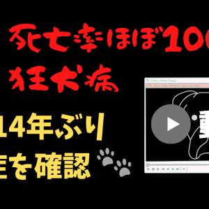 動画!14年ぶり死亡率100%狂犬病発症 感染原因と症状と治療法