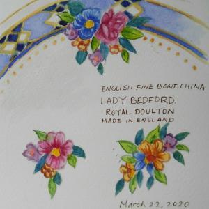 皿に咲く永遠の花