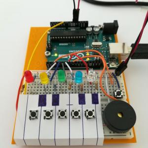 Arduinoでアシスト機能付き☆キーボード