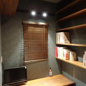 3畳の書斎作りで拘った所!可動式机や本棚 クロスやエアコンはどうする?