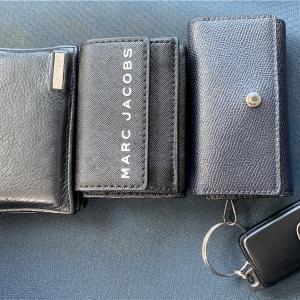 【大人男子の持ち物】財布っていつの間にかどんどんと膨らんでいきますので、いっそ小さくしてみました。【ちい財布】