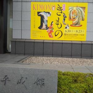 東博 特別展「きもの」へ