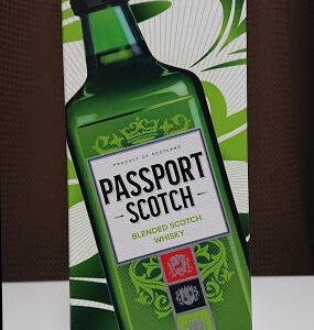 【パスポート スコッチ*レビュー】⇒ちょっとマイナーだけどだいぶ優秀な大人スコッチ!!