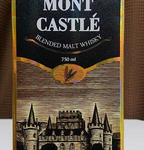 【モンキャッスル(Mônt Castlé)*レビュー】エッジの利いたコスパ最強ウィスキー