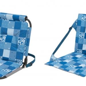 広げるだけでセッティングOK!快適な座り心地の耐水チェア2種 新発売!