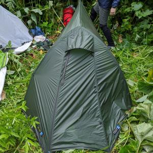 テラノバ 自立する最軽量テント ソーラーフォトン2