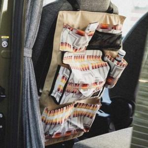 ペンドルトンカラーのクルマ雑貨で、車内も秋アウトドア気分に!