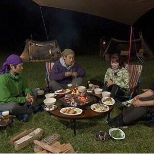 """初代MCマミ部長もキャンプに参戦!さらに、満月の夜に現れる""""外寿司大泉""""も<おにぎりあたためますか>"""