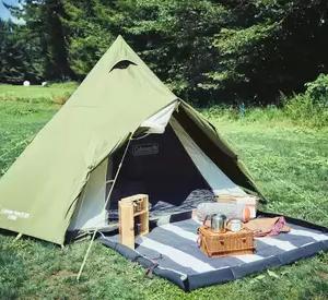 ソロキャンプにもおすすめなテント、ヘキサタープがコールマンから登場!『ツーリングドーム』『ヘキサライトⅡ』など全4種が発売決定