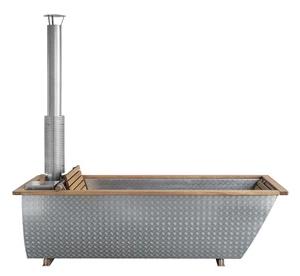 持ち運べる、薪風呂。 スウェーデン発のアウトドアバスタブが日本上陸!
