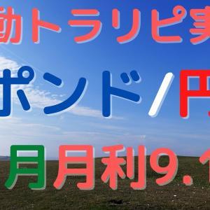 【11月実績】ポンド/円 手動トラリピ やり方/設定も公開!