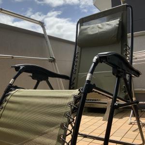 外出自粛の中で日光浴! コールマン インフィニティチェア