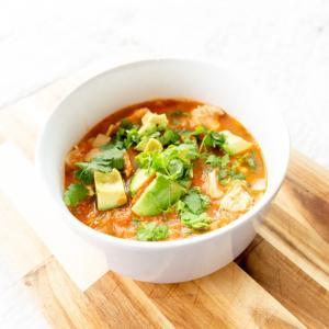 メキシカンな気分な時は!トルティーヤスープ