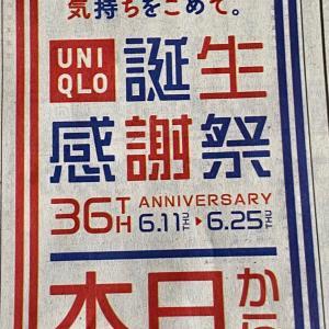 【 今夜は ユニクロ感謝祭 だぞ!】