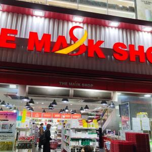 東大門マスクショップ2月の店内の様子