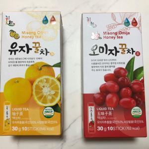 仁川空港で買ってきた五味子茶