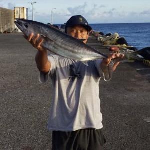 2019年8月9日式根島釣り情報