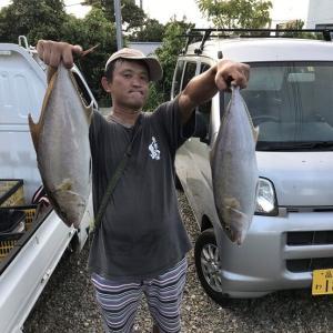 2019年8月6日式根島釣り情報