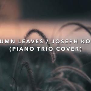 Autumn Leaves / Joseph Kosma (piano trio cover)