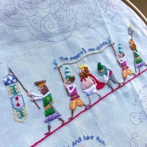 息子の高血糖と刺繍
