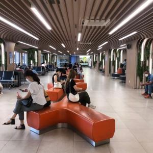 ソウル•高速ターミナルで驚いた光景!超現代的ターミナルに変身!
