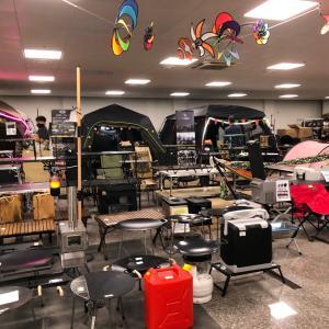【金海】慶尚南道でキャンプ用品を見るなら?キム家キャンプ用品下見。