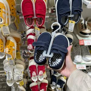 韓国の保育園の先生に褒められた金さんジュニアのプチプラ靴!