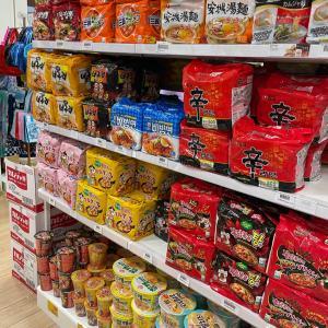 日本!?韓国食材スーパーじゃないのにこの充実度。テンション上がるお店!
