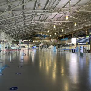 コロナ渦•金海空港国際線の今!空港が泣いています!