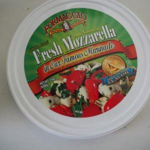 コストコ フレッシュモッツァレラチーズ オイル漬が便利