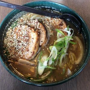 【銀波露江別本店】醤油厚切り炙りバラチャーシュー麺を試してみた!