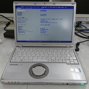 パナソニックノートパソコン レッツノートCF-SZ5 HDD交換