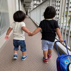 2020.09.孫二人の成長日記