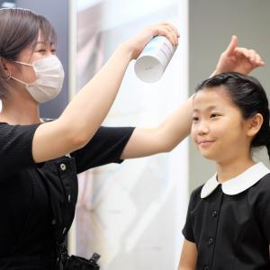 受験写真の髪型について