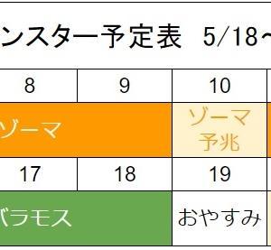 ゾーマ3回に増加!バラモス1回に減少! 5/18~メガモンスタースケジュール変更
