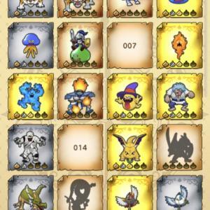 最近のモンスター集めは金のたまごや紫のたまごと銀のたまごを併用