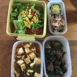 二男夫婦へお弁当(昼食)