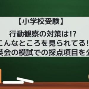 【小学校受験】行動観察の対策は!? こんなところを見られてる! ~理英会の模試での採点項目を公開~