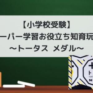 【小学校受験】ペーパー学習お役立ち知育玩具~トータス メダル~