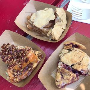 アップルパイにアイスクリームは乗せる?